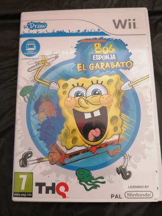U Draw Wii Bob Esponja el Garabato