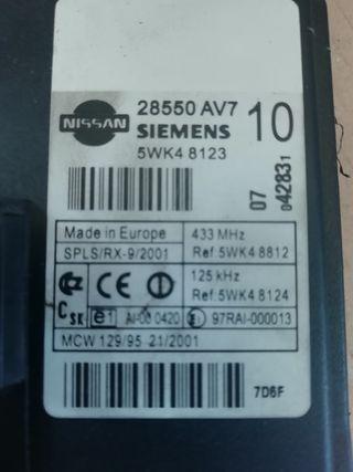 Módulo electrónico Nissan Primera 2.0 16V