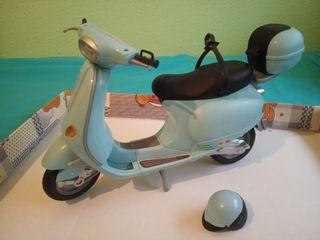 Moto Vespa Barbie