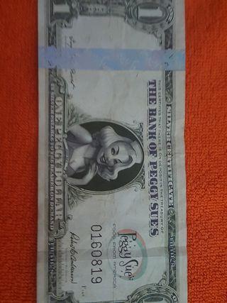 moneda americana Peggy para coleccionistas