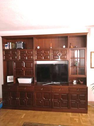 Mueble libreria de salón