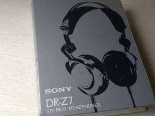 sony dr-z7. auriculares high end