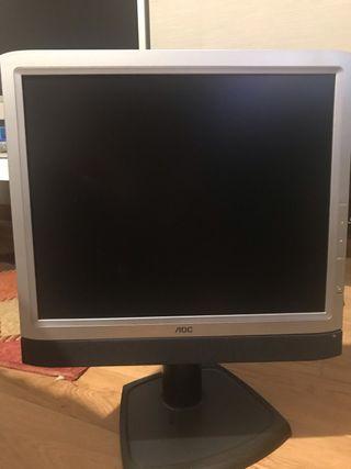 """2 pantallas AOC 17"""""""