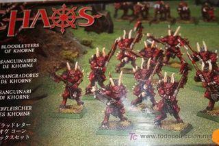 Warhammer Desangradores Khorne