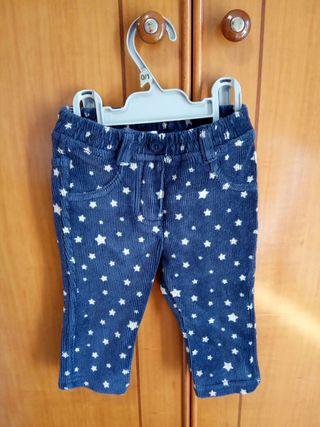 Pantalón de pana Benetton 9 meses