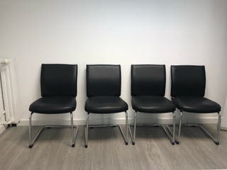 4 sillas oficina