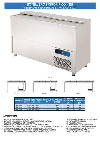 botellero frigorifico - eb