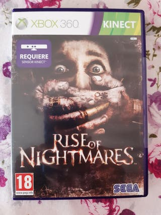 rise of nightmares xbox 360(kinect)