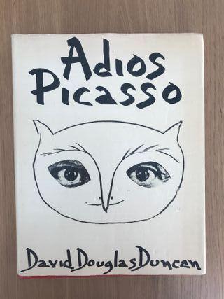 Adios Picasso libro ilustrado