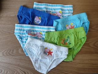 Slips estampados de George de Peppa Pig
