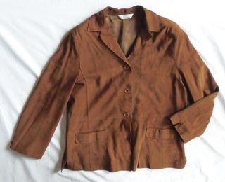 cedosce. preciosa chaqueta de piel de cabra. t 40