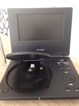 Reproductor DVD-CD con pantalla