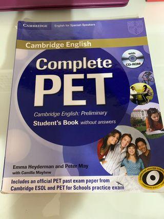 COMPLETE PET CAMBRIDGE.