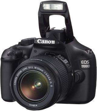 Canon EOS 1100D. Cámara reflex digital 12.2.MP.