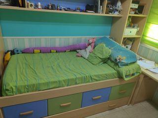 se vende dormitorio juvenil mas armario.