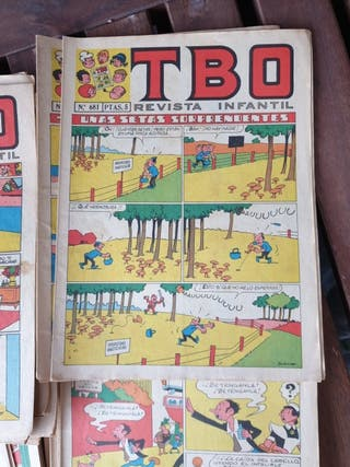 Colección revistas TBO