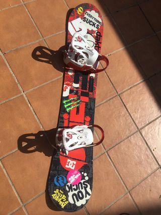 Tabla snowboard Burton + Botas Head