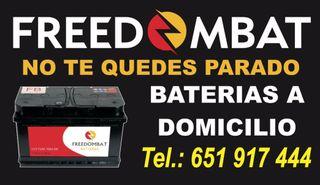 Baterias de coche a domicilio
