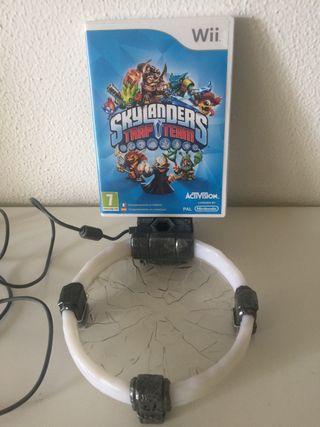 Skylanders trap team para Wii