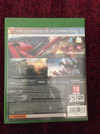 Videojuego Battlefield 1 Xbox One