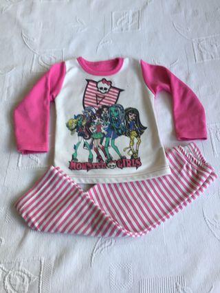 Pijama MONSTER HIGH 4 años