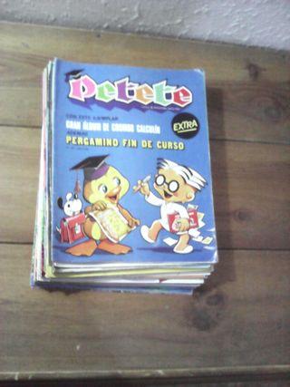 Lote de 33 revistas de Petete