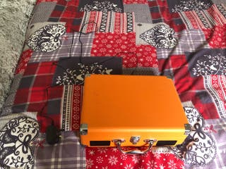 Orange Revinyl Record Player