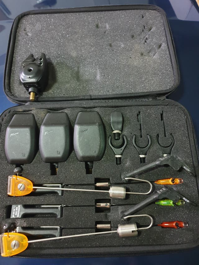 Equipo Completo de Carp Fishing