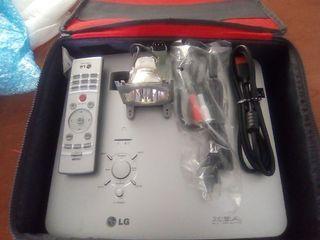 proyector LG dx630+lámpara de repuesto+funda