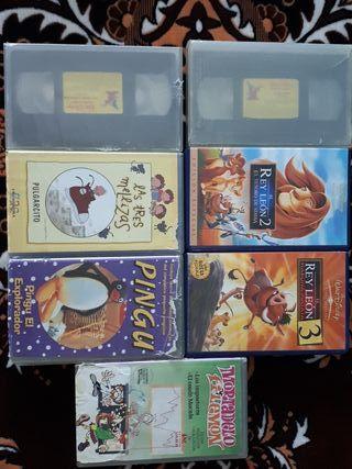 Pack Películas VHS