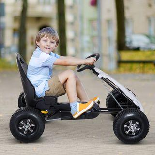 Coche de Pedales Go Kart Racing Deportivo