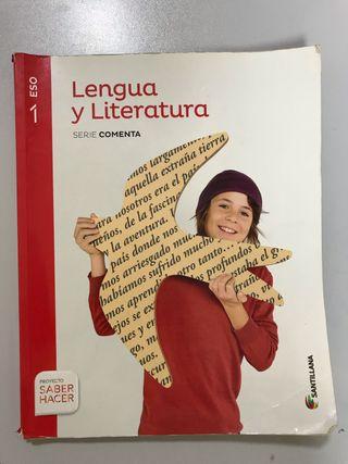 Libro Lengua y Literatura 1ºESO