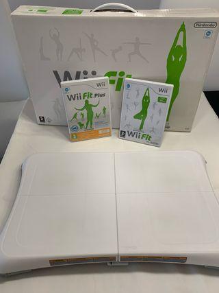 Wii Balance Board + WiiFit + WiiFitPlus