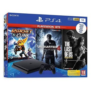 SONY PLAYSTATION 4 SLIM 1TB PACK THE LAST OF US +