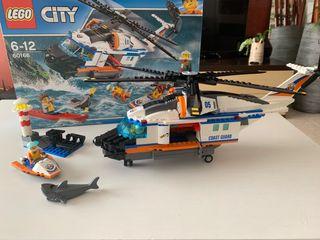 Lego City 60166 Helicóptero de rescate
