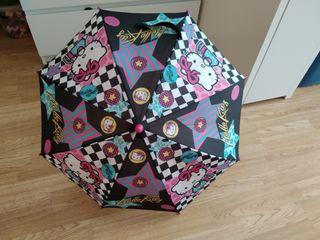 Paraguas niña pequeña de Hello Kitty