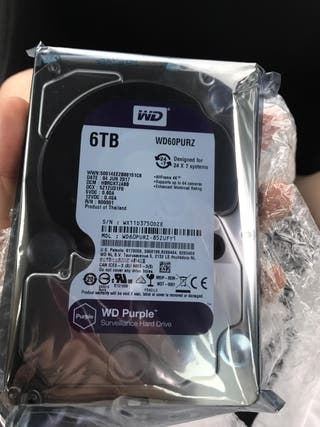 Disco duro interno 6TB