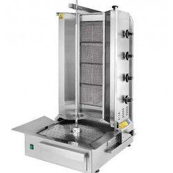 maquina de doner y kebab 4 quemadores