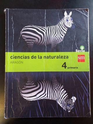 Ciencias de la naturaleza. Aragon 4 Primaria