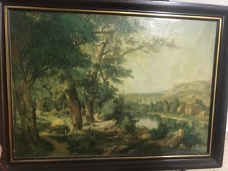 Cuadros antiguos de paisajes