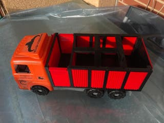 camion y cajon