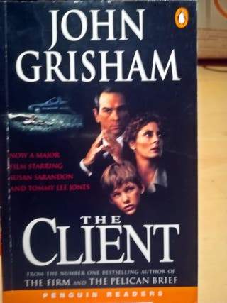Libro The CLIENT de John Grisham. INGLÉS