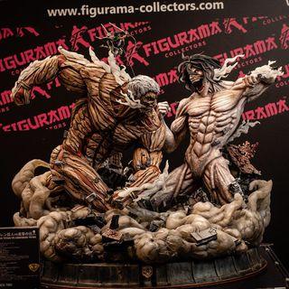 Attack of titans estatua figurama