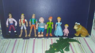 Figuras pvc Peter Pan Disney