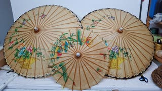 3 Paraguas chinos
