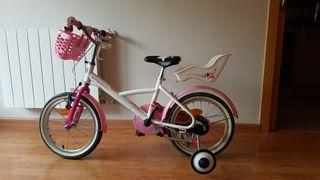 Bicicicleta niña