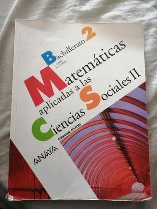 Matemáticas Aplicadas Bachillerato 2