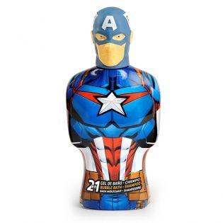 Gel y Champú 2 en 1 Avengers Capitán América Carto