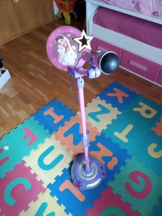 Micrófono pie Violetta