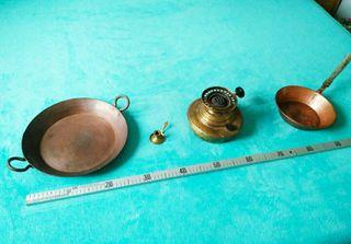 Antiguedades de cobre y bronce